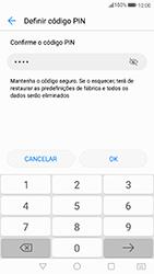 Huawei P8 Lite (2017) - Segurança - Como ativar o código de bloqueio do ecrã -  9
