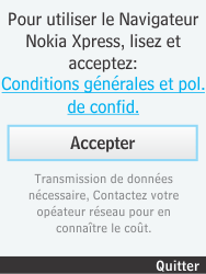 Nokia 301-1 - Internet - Navigation sur internet - Étape 3