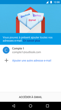 Motorola Moto Z Play - E-mail - 032c. Email wizard - Outlook - Étape 12