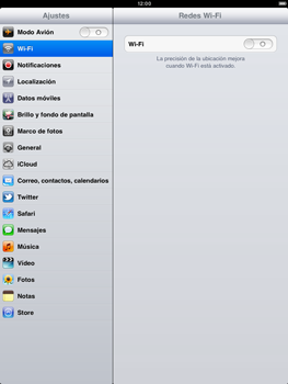 Apple iPad 2 - WiFi - Conectarse a una red WiFi - Paso 4