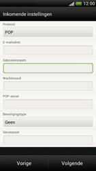 HTC Z520e One S - E-mail - e-mail instellen: POP3 - Stap 9