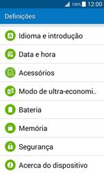 Samsung Galaxy J1 - Segurança - Ativar o código PIN do cartão de telemóvel -  4