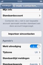 Apple iPhone 4S met iOS 6 (Model A1387) - Contacten en data - Contacten kopiëren van SIM naar toestel - Stap 5