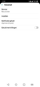 LG g7-fit-dual-sim-lm-q850emw - Voicemail - Handmatig instellen - Stap 6