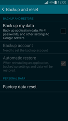 Samsung G850F Galaxy Alpha - Device - Reset to factory settings - Step 6