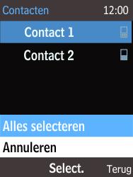 Nokia 225 (Type RM-1012) - Contacten en data - Contacten overzetten via Bluetooth - Stap 7