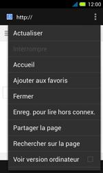 Acer Liquid Z4 - Internet - Navigation sur internet - Étape 6