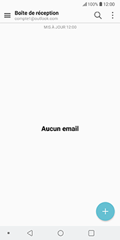 LG V30 - E-mail - 032c. Email wizard - Outlook - Étape 5