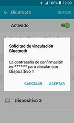 Samsung Galaxy J1 (2016) (J120) - Bluetooth - Conectar dispositivos a través de Bluetooth - Paso 7