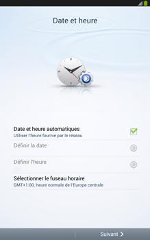 Samsung Galaxy Tab 3 8 4G - Premiers pas - Créer un compte - Étape 4