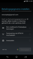 Sony Xperia T3 - Applicaties - Applicaties downloaden - Stap 20