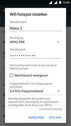 Nokia 3 Dual SIM (TA-1032) - WiFi - Mobiele hotspot instellen - Stap 8