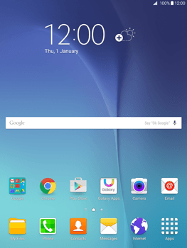 Samsung Galaxy Tab A 9.7 - E-mail - In general - Step 1