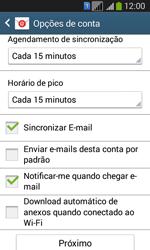 Samsung SM-G3502T Galaxy Core Plus Duo TV - Email - Como configurar seu celular para receber e enviar e-mails - Etapa 15