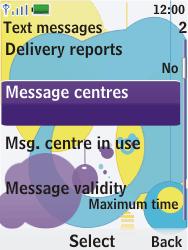 Nokia 7310 supernova - SMS - Manual configuration - Step 6