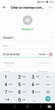 Alcatel 3L - Contact, Appels, SMS/MMS - Ajouter un contact - Étape 6