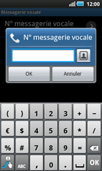 Samsung I5800 Galaxy Apollo - Messagerie vocale - configuration manuelle - Étape 8