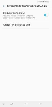 Samsung Galaxy Note9 - Segurança - Como ativar o código PIN do cartão de telemóvel -  9