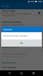 HTC One A9 - Voicemail - Manual configuration - Step 8