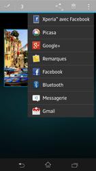 Sony Xpéria SP - Photos, vidéos, musique - Envoyer une photo via Bluetooth - Étape 9