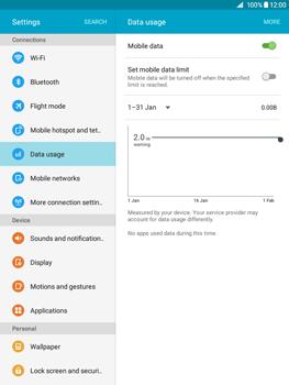 Samsung Galaxy Tab A 9.7 - Internet - Manual configuration - Step 5