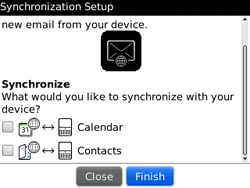 BlackBerry 9300 Curve 3G - Email - Manual configuration - Step 12
