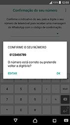 Sony Xperia XA (F3111) - Aplicações - Como configurar o WhatsApp -  10