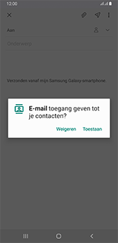 Samsung galaxy-a6-plus-sm-a605fn-ds-android-pie - E-mail - Hoe te versturen - Stap 6
