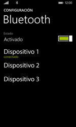 Nokia Lumia 635 - Bluetooth - Conectar dispositivos a través de Bluetooth - Paso 8