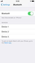 Apple iPhone 5s - iOS 11 - Bluetooth - Pair with another device - Step 5