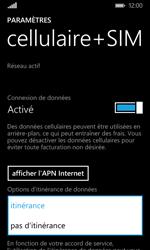 Microsoft Lumia 435 - Internet - Désactiver du roaming de données - Étape 6