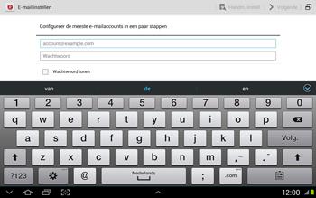Samsung N8020 Galaxy Note 10-1 LTE - E-mail - Handmatig instellen - Stap 6