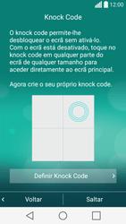 LG C70 / SPIRIT - Primeiros passos - Como ligar o telemóvel pela primeira vez -  14