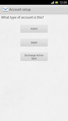 Sony LT28h Xperia ion - E-mail - Manual configuration - Step 6
