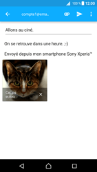 Sony Xperia Z5 Compact - Android Nougat - E-mail - envoyer un e-mail - Étape 15