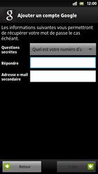 Sony Xpéria S - Premiers pas - Créer un compte - Étape 17