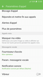 Samsung Galaxy S6 (G920F) - Android M - Messagerie vocale - configuration manuelle - Étape 7
