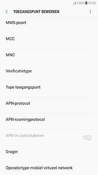 Samsung Galaxy J7 (2017) - MMS - handmatig instellen - Stap 12