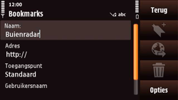 Nokia N97 Mini - Internet - Hoe te internetten - Stap 9