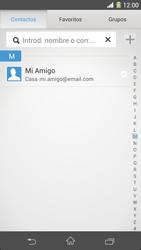 Sony Xperia Z1 - E-mail - Escribir y enviar un correo electrónico - Paso 6