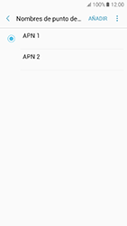 Samsung Galaxy A5 (2017) (A520) - Mensajería - Configurar el equipo para mensajes multimedia - Paso 16