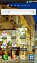 Samsung I9000 Galaxy S - E-mail - e-mail instellen: POP3 - Stap 1