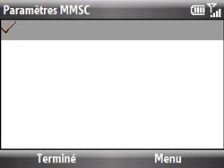 HTC S521 Snap - MMS - Configuration manuelle - Étape 14