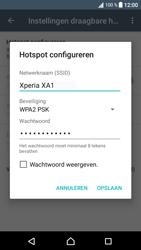 Sony Xperia XA1 (G3121) - WiFi - Mobiele hotspot instellen - Stap 8