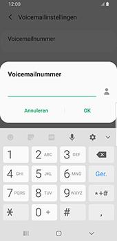 Samsung Galaxy S9 Android Pie - Voicemail - handmatig instellen - Stap 12
