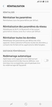 Samsung Galaxy S8 Plus - Appareil - Réinitialisation de la configuration d