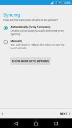 Sony Sony Xperia Z5 (E6653) - E-mail - Manual configuration (yahoo) - Step 10