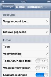 Apple iPhone 4S met iOS 6 (Model A1387) - E-mail - Handmatig instellen - Stap 5