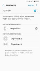 Samsung Galaxy S6 - Android Nougat - Bluetooth - Conectar dispositivos a través de Bluetooth - Paso 9