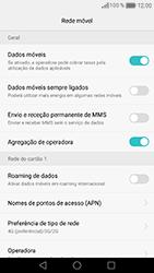 Huawei Honor 8 - Internet no telemóvel - Como ativar 4G -  8
